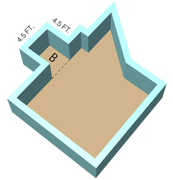 Odd Shaped Room - Section B