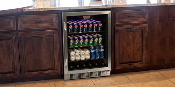Freestanding vs. Built-in Beverage Refrigerators