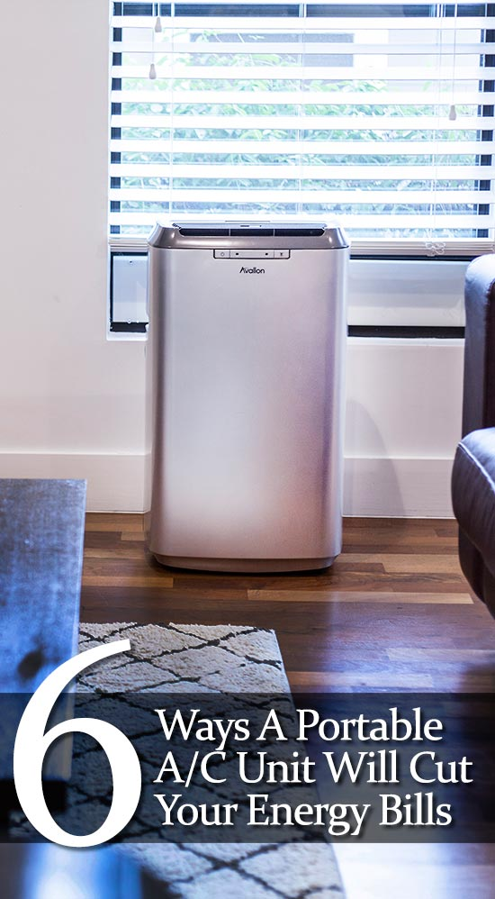 How A Portable A/C Unit Can Lower Your Energy Bills